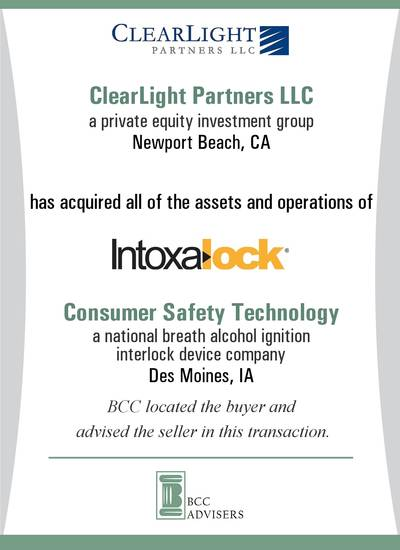 ClearLight Partners LLC / Consumer Safety Technology