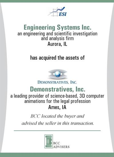 Engineering Systems Inc. / Demonstratives, Inc.