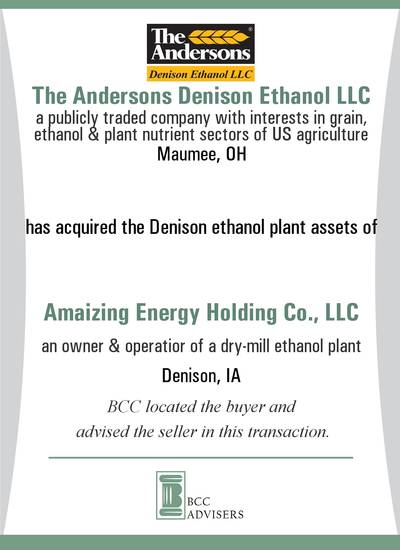 The Andersons Denison Ethanol LLC / Amaizing Energy Holding Co., LLC