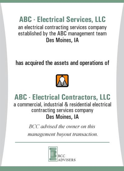 ABC - Electrical Services, LLC / ABC - Electrical Contractors, LLC