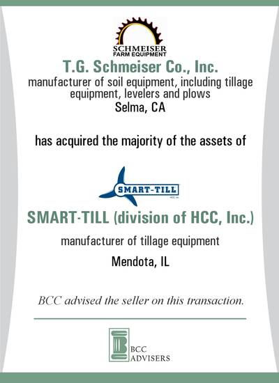 T.G. Schmeiser Co., Inc. / SMART-TILL (division of HCC, Inc.)