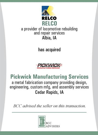 RELCO / Pickwick Manufacturing Services