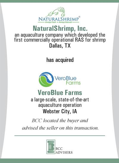 NaturalShrimp, Inc. / VeroBlue Farms