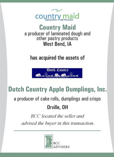 Country Maid / Dutch Country Apple Dumplings, Inc.